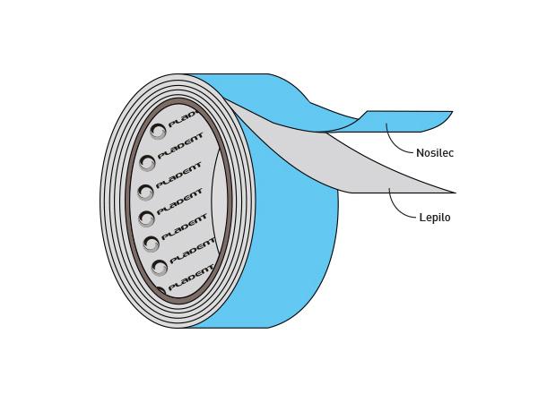 Pladent - Penjeni polietilen z lepilom - PolipenSP